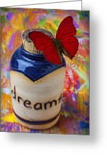 Jar Of Dreams Greeting Card