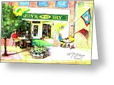 Java By The Bay Greeting Card
