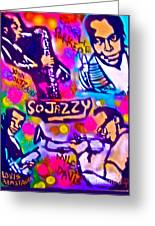 Jazz 4 All Greeting Card