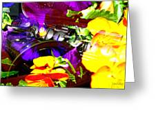 Jazz The Color Of Sound Greeting Card