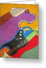 Jazz Trio Greeting Card