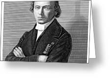 Jean Baptiste Andr� Dumas Greeting Card