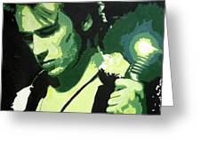 Jeff Buckley Greeting Card