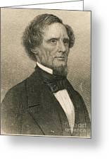 Jefferson Davis, President Greeting Card
