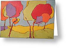 Jelly Bean Trees Greeting Card