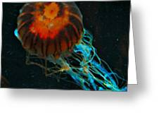 #jellyfish #instadroid #andrography Greeting Card