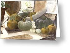 Jennifer's Pumpkins Greeting Card