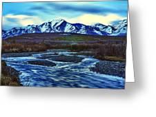 Jenny Creek Dawn Greeting Card