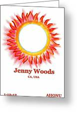 Jenny Woods Greeting Card