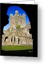 Jerpoint Abbey In Kilkenny Greeting Card