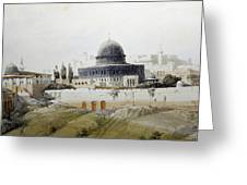 Jerusalem Close Up Greeting Card