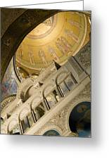 Jerusalem, Israel, Church Of The Holy Greeting Card by Richard Nowitz