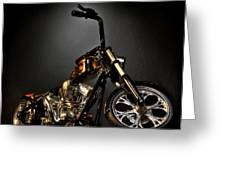 Jesse James Bike 2 Detroit Mi Greeting Card
