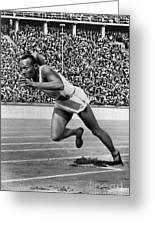 Jesse Owens (1913-1980) Greeting Card