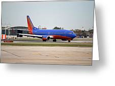 Jet Chicago Airplanes 11 Greeting Card