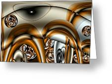 Jet Stream Greeting Card by Ron Bissett