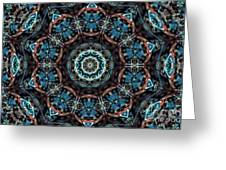 Jeweled Turquoise Greeting Card
