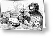 Jeweler, 19th Century Greeting Card