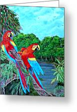 Jewels Of The Amazon Greeting Card