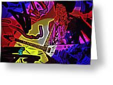 Jimi Hendrix Number 22 Greeting Card