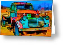 Jimmy In Taos II Greeting Card