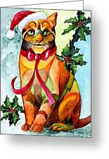 Jingle Cat Greeting Card