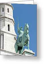Joan Of Arc Iv Greeting Card