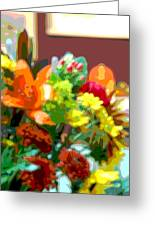 Joannes Flowers Greeting Card