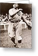 Joe Tinker (1880-1948) Greeting Card