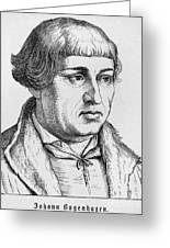 Johannes Bugenhagen Greeting Card