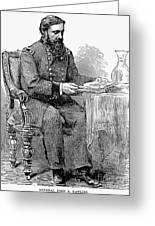 John A. Rawlins Greeting Card