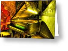 John Broadwood And Sons Grand Piano Greeting Card