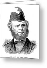 John Brown (1827-1883) Greeting Card