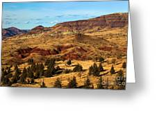 John Day Blue Basin Greeting Card
