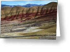 John Day Painted Hills Greeting Card