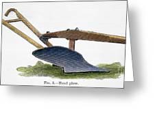 John Deere Plow Greeting Card