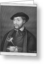 John Dudley (1502?-1553) Greeting Card