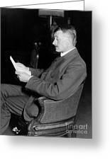 John Masefield (1878-1967) Greeting Card