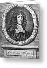 John Mayow (1640-1679) Greeting Card