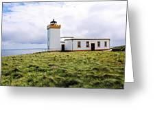 John O Groats Lighthouse Greeting Card