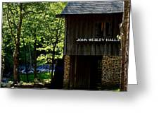 John Wesley Halls Gristmill Greeting Card