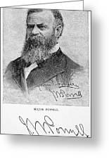 John Wesley Powell Greeting Card