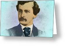John Wilkes Booth, Assassin Greeting Card
