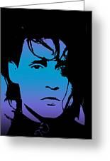 Johnny As Edward Greeting Card