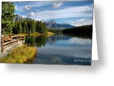 Johnson Lake Greeting Card