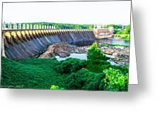 Jordan Dam Greeting Card