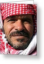 Jordanian Man Greeting Card by Munir Alawi