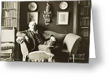 Joris Karl Huysmans Greeting Card