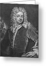 Joseph Addison (1672-1719) Greeting Card
