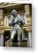 Joseph Priestley, British Chemist Greeting Card by Martin Bond